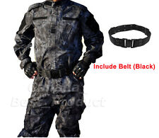 Tactical Military Combat Mens BDU Uniform Suit Shirt & Pant Typhon Kryptek
