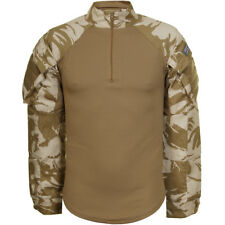 Army Tactical Combat Under Body Armour Mens Shirt British Dpm Desert Camouflage