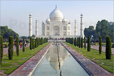 Poster/toile taj mahal, unesco world heritage site, A.... - G. Hellier