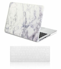 Macbook Pro 13 15 Retina Case Hard Case Print Frosted-White Marble Pattern Cover