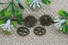New 10/30/50pcs Retro bronze Gear charm alloy Jewelry finding Pendant 14mm