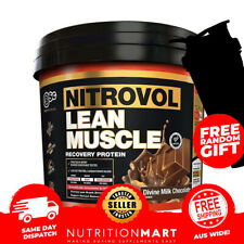 BSC NITROVOL LEAN MUSCLE MASS GAINER 3kg - BODYSCIENCE RECOVERY WHEY PROTEIN