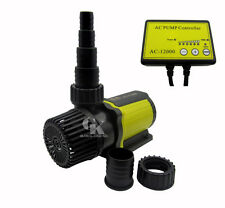 1585-3170GPH Adjustable Submersible Pump With Controller Aquarium Pond Pump