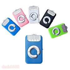 Mini Metal USB MP3 Player Support 32GB Micro SD TF Card Music Long Standby Gift