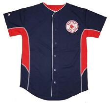 NWT Majestic Boston Red Sox MLB Youth 8-20 Team Leader Jersey - Navy