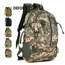 Acu Waterproof Mountaineering Hiking Travel Tactical Man 40L Backpack Bag