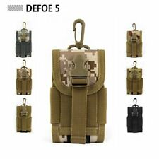 Desert MOLLE PALS cell mobile phone coyote mini buckle utility pouch purse bag
