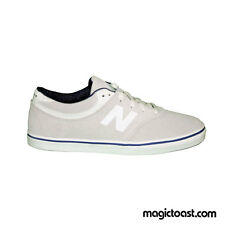 New Balance Numeric Quincy 254 Skateboard Shoes White Suede Arto Saari