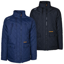 Sonneti Mens Diamond Quilted Jacket Warm Padded Winter Coat Navy Black New