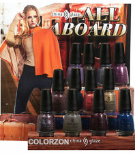 China Glaze Nail Polish Lacquer All Aboard Collection 0.5oz/14ml