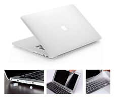 "Rubberized Matte Hard Case Cover Skin Set for Apple Macbook Pro / Air 13"" 13.3"""