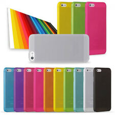 0.3mm Ultra Thin Slim Matte Soft Hard Back Case Cover Skin TH For iPhone 5 5s
