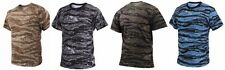 T-Shirt Camouflage  Military Style Tiger Stripe  Rothco