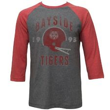Adult High School Teenage Saved by the Bell Bayside Tigers Football TV Show Tee