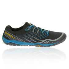 Merrell Trail Glove 3 Mens Navy Blue Running Trail Sport Shoes Trainers Sneakers