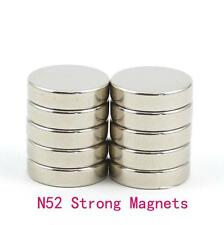 Lot Strong N52 Disc Rare Earth Neodymium Magnets 2x1mm/5x1mm/5x2mm/10x1mm/10x2mm