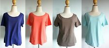 *NWT Patagonia Women S/S VITALITI TOP Tee Blouse Stretchy Organic Cotton M L XL