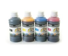 Dye based ciss ink refill 4 x 100ml fits with Epson printers bulk refill ink