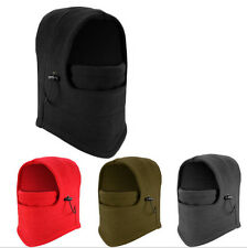 Fleece Double Layer Warm Full Face Cover Winter Ski Cycling Mask Beanie Hat
