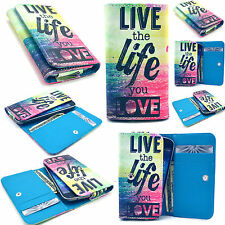 Life Leather Card Wallet Case Cover For Phone Samsung LG HTC Motorola
