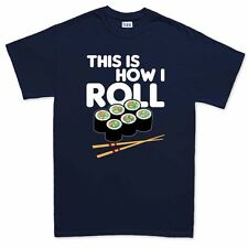 This Is How I Roll Funny Mens T shirt - Gift for Dad Mom