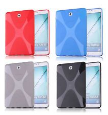 X-Line Soft TPU Gel Case Skin Protect Cover For Samsung Galaxy Tab S2 8.0 9.7