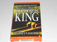 "Audiobook The Green Mile by Stephen King ""Coffey's Hands""-2 Cassettes"