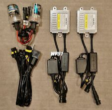 HIGH BEAMS 9005 HB3 35W CANBUS NO ERROR SLIM XENON HID KIT 07-08 FOR I-370