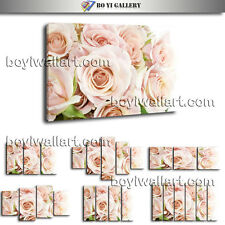Modern Wall Art Rose Flower Living Room Decor Large HD Pictures On Canvas Prints