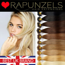 """1 gram U tip/nail tip 100% human hair extensions 20"""" AAA pre bonded indian remy"""