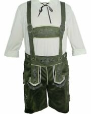 K93 Authentic German Green Suede Lederhosen Oktoberfest Octoberfest Beer Costume