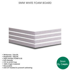 5mm White Foam Boards    (A4, A3, A2, A1, A0, 40x70, 48x96)