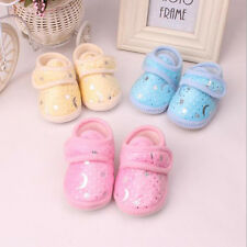 Non-Slip Newborn Infant Baby Toddler Soft bottom Shoes 3 Colors Girls Boys