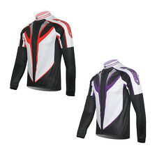 Long Sleeve Men's Speed Racer Cycling Jerseys Bicycle Clothing Biking Wear Top