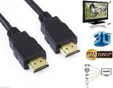 1M-10M Premium Gold HDMI to HDMI High Speed Lead Cable 1080p HDTV HD 3D PS3 SKY