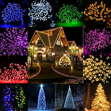 New 60/80/100/200 LED String Fairy Lights Indoor/Outdoor Xmas Christmas Party
