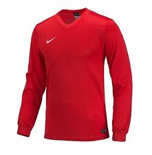 NIKE Dri Fit Soccer Jersey Energy 3 L/S TH AUTHENTIC Football Sports Red Shirt