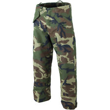 Mil-Tec Wet Weather Waterproof Hunting Trousers Hiking Nylon Army Pants Woodland
