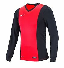 NIKE Dri Fit Soccer Jersey Park Derby L/S AUTHENTIC Football Sports Pink Shirt