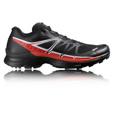 Salomon S-Lab Wings SG Mens Black Cushioned Trail Running Sports Shoes Trainers
