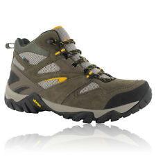 Hi-Tec Mens Coyote Brown Mid Waterproof Outdoor Trail Walking Hiking Boots Shoes