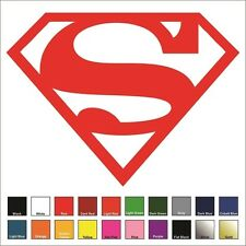 Superman Supergirl Sticker / Decal - Multiple Colors and Sizes - Justice League