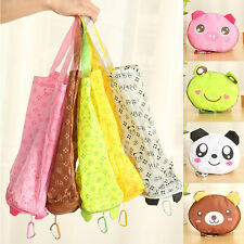 Eco Storage Handbag Cotton Cute Foldable Shopping Tote Reusable shopping Bags SU