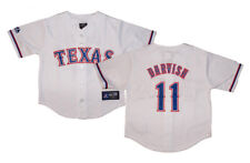 NWT Majestic Yu Darvish Texas Rangers Kids 4-7 Replica Home Jersey