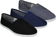 New Fashion Mens Canvas Shoes Slip On Casual Flats Loafers Kung Fu Ninja, Sizes