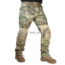 Emerson Airsoft Military Shooting BDU Gen3 G3 Combat Pants w/ Knee Pads Multicam