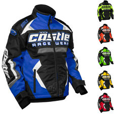 Castle Bolt G3 Youth Boys Snowmobile Snow Winter Jacket Outerwear