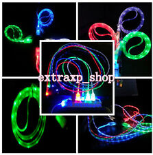 Glow Visible LED USB Data Sync Charger Charge Cable Line Cord for iPhone 6 6Plus