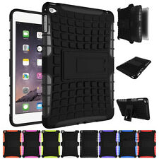 Hybrid Heavy Duty Shockproof Kickstand Hard Case Cover for iPad mini 2 3 4/Air 2