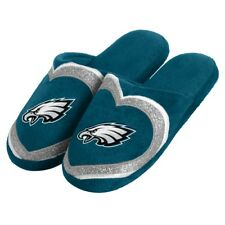 Philadelphia Eagles NFL Women's Glitter Heart Slide Slippers